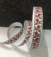 Лента репсовая декоративная LRD2-1,5см-4-25Y