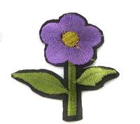 Аппликации цветы термоклеевые AP039-43