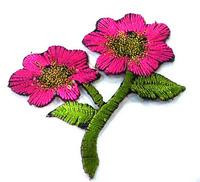 Аппликации цветы AP042-34