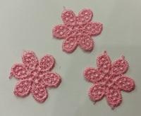 Аппликации пришивные цветы APP02-34