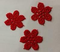 Аппликации пришивные цветы APP02-4