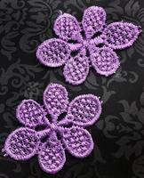 Аппликации пришивные цветы APP01-43