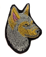 Аппликации волк S0385-64-5шт