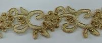 Кружево золото XYH1009-41