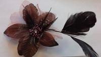Цветок на заколке КЦ114-27