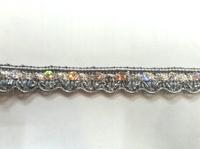 Тесьма металлизированная 451-42-10y