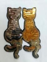 Аппликации термоклеевые кошки AK504-41-42