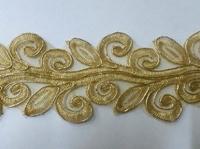 Кружево золото G3276B-41