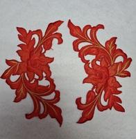 Аппликации-лейсы цветы 338-4