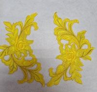 Аппликации-лейсы цветы 338-7