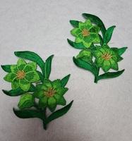 Аппликации-лейсы цветы 001-18