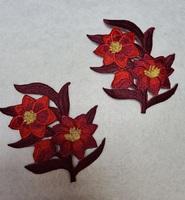 Аппликации-лейсы цветы 001-4