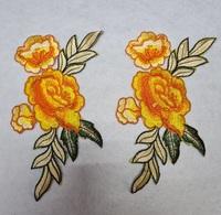 Аппликации-лейсы цветы 4071-7