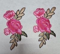 Аппликации-лейсы цветы 4071-34