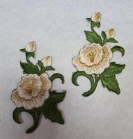 Аппликации-лейсы цветы 074-24