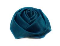 Розы из атласной ленты КЦ271-16