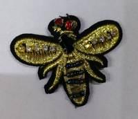 Аппликации пришивные пчела AK451-3-41