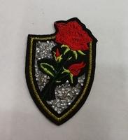 Аппликации роза термо AK470-3