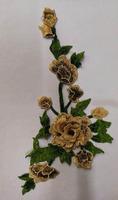 Аппликации цветы 3D AP217-24