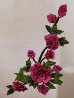 Аппликации цветы 3D AP217-37