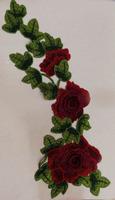 Аппликации цветы 3D AP218-39
