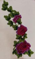 Аппликации цветы 3D AP218-40