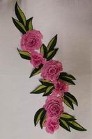 Аппликации цветы 3D AP219-34