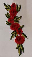 Аппликации цветы 3D AP219-4