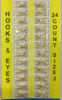 Крючки металлические HOOKS2-41