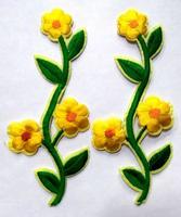 Аппликации цветы 6029-7