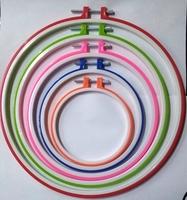 Пяльцы для вышивания пластиковые PYAL-mix