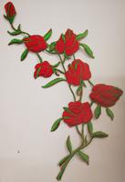 Аппликации цветы 6182-4