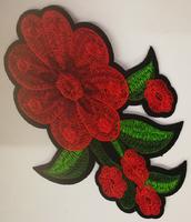 Аппликации цветы AK526-4