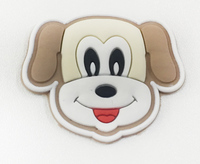 Аппликации пришивные собака AK196-28