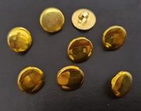 Пуговицы золото  PP80-12mm-84-30шт