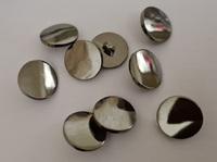 Пуговицы серебро  PP80-15mm-86-12шт