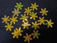 Снежинки пайетки SNE25-41