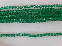 Бусины на леске BD-18 (зеленый)