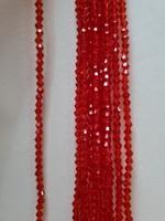 Бусины на леске BD-4 (красный)