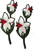 Аппликации цветы AK2-21/7,5-1