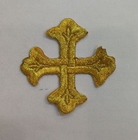 Аппликации крест 3028-41-50шт
