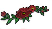 Аппликации цветы AK339-4