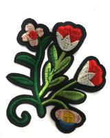 Аппликации цветы AK62-4