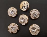 Пуговицы со стразами  PP184-1,3sm-41-12шт