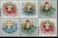 Куколки декоративные DK4